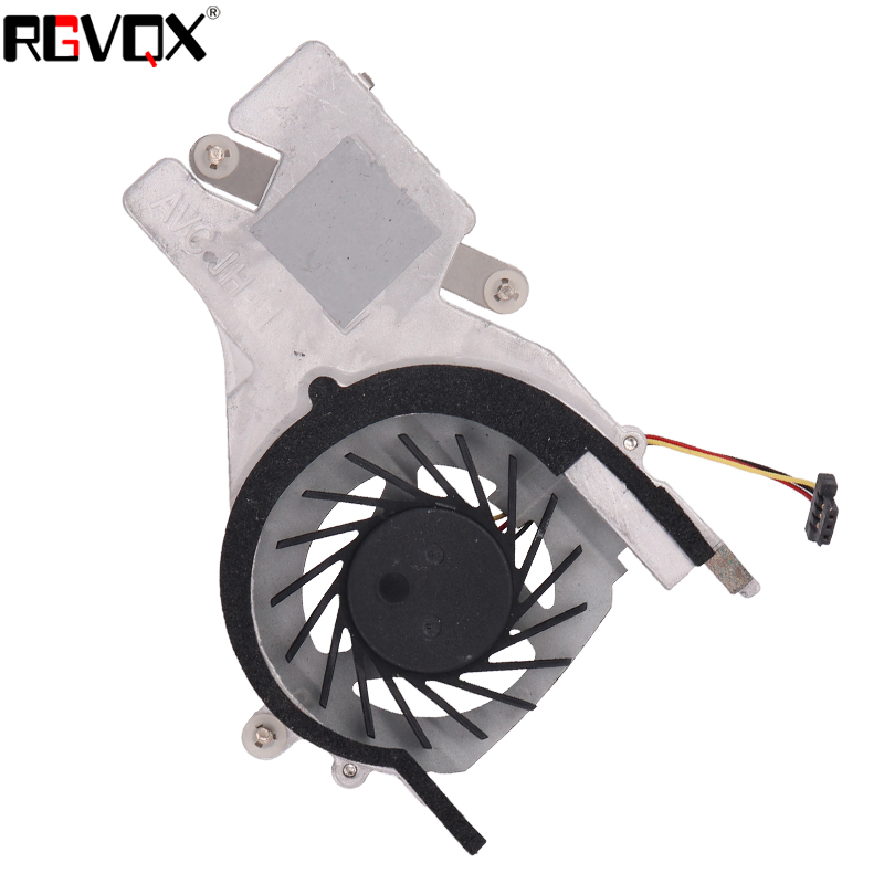 Купить с кэшбэком New Laptop Fan for HP COMPAQ MINI CQ10 Mini 110-3000 HSTNN-Q46C Heatsink PN: 608772-001 AD5005HX-QD3 Cooler/Radiator Replacement