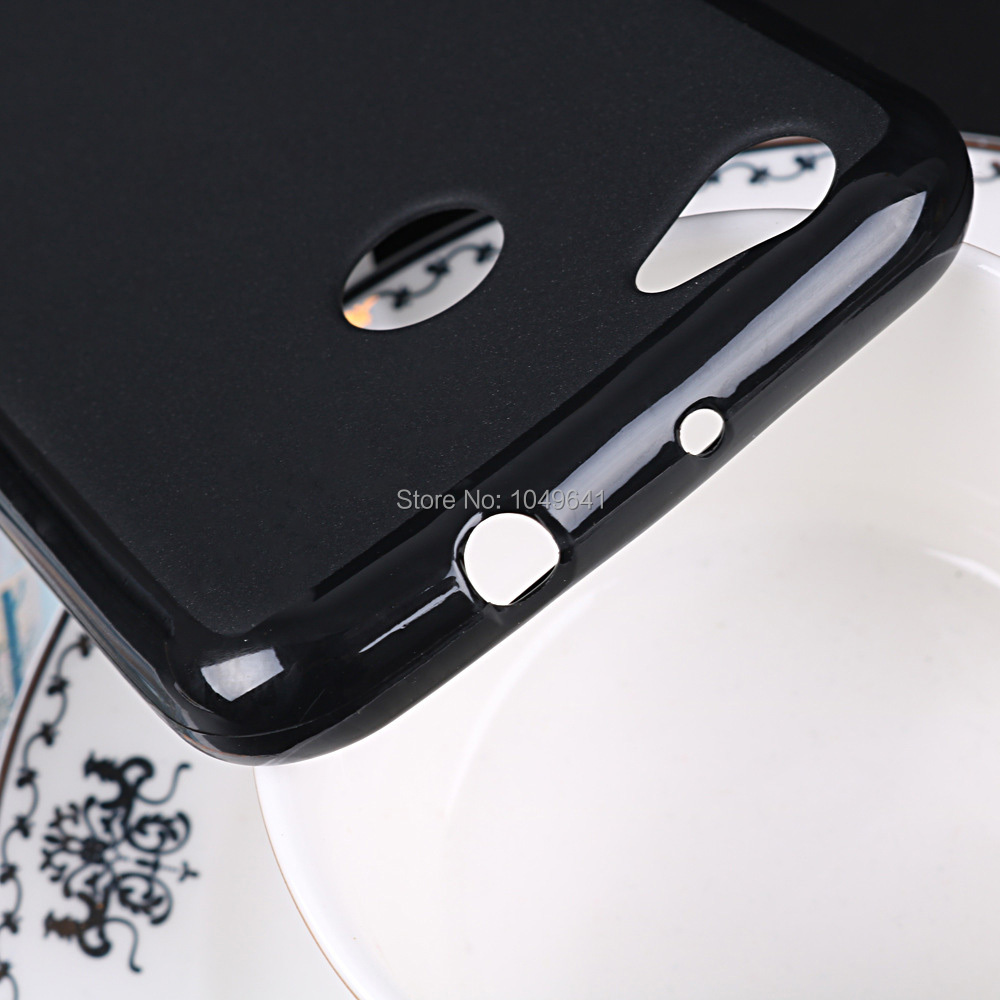 ZTE1309_5_9H 2.5D Explosion Proof Tempered Glass + Soft TPU Case for ZTE Blade A6 5.2 inch