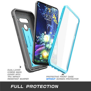 Image 3 - For LG V50/LG V50 ThinQ 5G Case 2019 SUPCASE UB Pro Heavy Duty Full Body Rugged Holster Cover with Built in Screen Protector