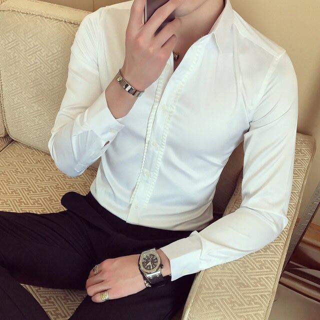 Mens Baroque Slim Fit Shirt 2