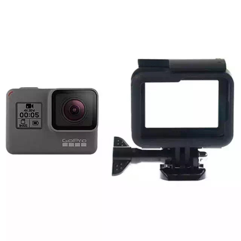 Рамка для GoPro Hero 5 6 Аксессуар Quick Release Пряжка Защитный чехол для Go Pro Hero 5 Black Edition Экшн-камера