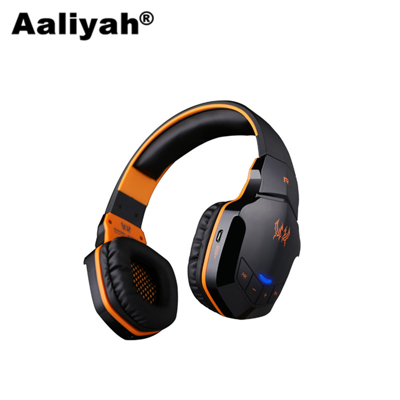 [Aaliyah]B3505 Wireles Bluetooth Stereo Gaming Headphones Game Headset PC Gamer With Volume Control Microphone HiFi Build-in NFC meelectronics atlas on ear headphones with inline microphone and universal volume control