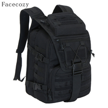 Facecozy Outdoor Camping Hiking Waterproof Military Backpack Men&Women Softback Travel Unisex Tactical Backpack Climbing Mochila