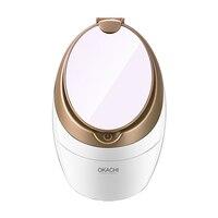Vapor facial para rosto salão de beleza sauna pessoal spa nano ionic rosto névoa pulverizador barril pele poros mais limpo okachi gliya