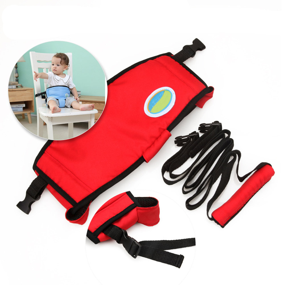 Portable Baby Chair Seat Product Dining Lunch Infant Chair Safety Belt Feeding High Harness AN88