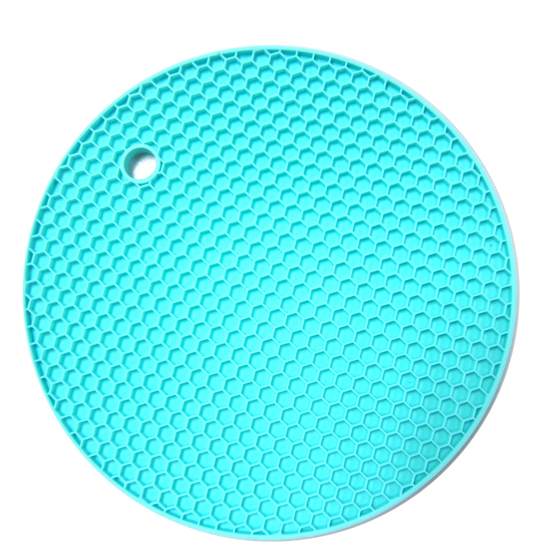 mat pack multi heat round silicone kitchen mats pot holder purpose resistant itm trivet