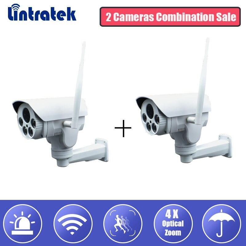 Caméra de sécurité WiFi IP caméra HD 960 P 4X Zoom optique sans fil Surveillance Wi-fi caméra de vidéosurveillance IP65 étanche Camara extérieur #30