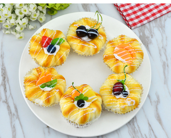 6 sztuk świąteczne zaopatrzenie firm sztuczne dekoracje żywności perfum symulacja pachnące owoce ciasto chleb rekwizyty manekin sklepowy tanie i dobre opinie Z tworzywa sztucznego