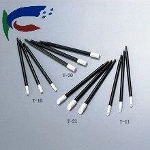 60Pcs stick T-21 Clean Swabs for t21 rubystick Cleaning Swabs for Rubystick printhead cleaning swab t21 rubystick