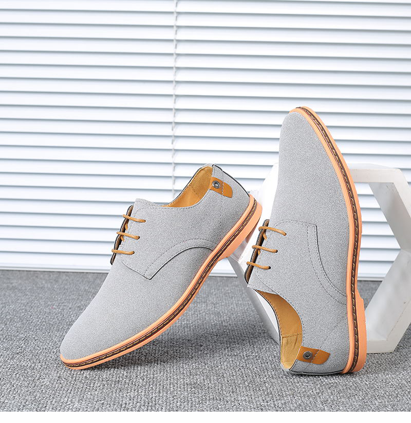 HTB1sBQHX8WD3KVjSZKPq6yp7FXac VESONAL Brand 2019 Spring Suede Leather Men Shoes Oxford Casual Classic Sneakers For Male Comfortable Footwear Big Size 38-46