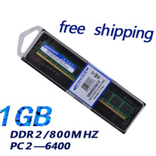KEMBONA lowest price memory module DDR2 RAM 1GB 800mhz for PC all the motherboard free shipping