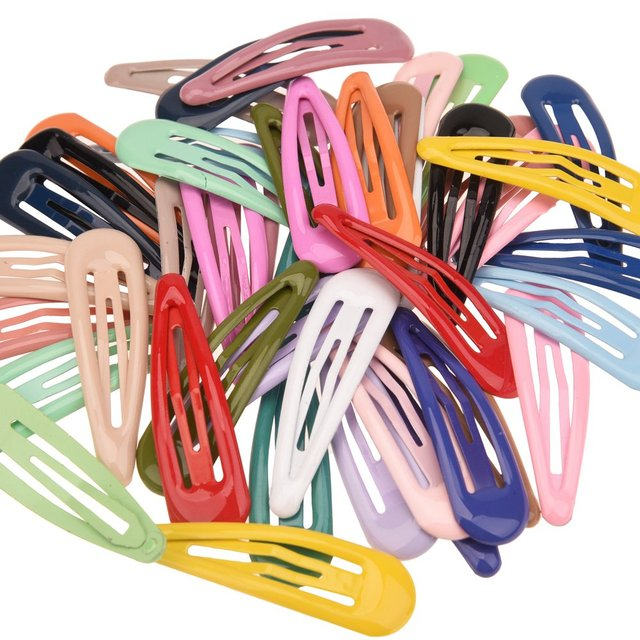 22 יחידות חמוד הצמד קליפ Chc שיער אביזרי Hairbow מאטל סיכות ראש סיכות בוטיק BB קליפים אופנה אבזר כיסוי ראש