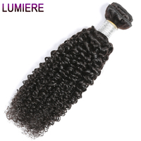 Lumiere Hair Indian Kinky Curly Hair Weaving 100 Human Hair Extensions 10 30 Inch Hair Weave
