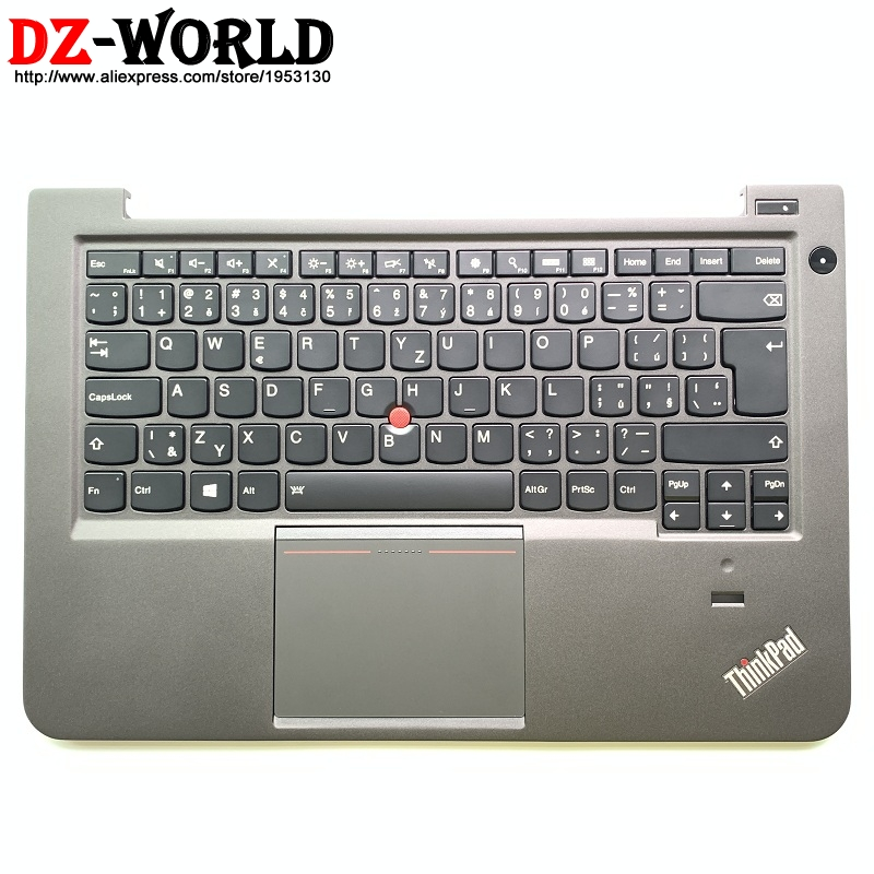 Czech CZ Backlit Keyboard with Palmrest Touchpad for Lenovo Thinkpad S3 S431 S440 Backlight Teclado C