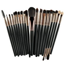ROSALIND 20Pcs Professional Makeup Brushes Set Powder Foundation Eyeshadow Make Up Brushes Cosmetics Soft Synthetic Hair(China)