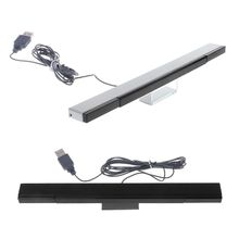 Wii Sensor Bar Wired Receivers IR Signal Ray USB Plug Replacement for Nitendo Remote