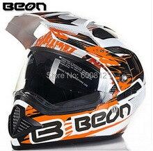 2016 новые нидерланды BEON кросс — страна мотоциклетный шлем B-601 двойной линзы ABS — дорога безопасно мотоцикл шлемы размер ml XL