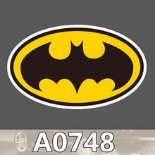 Bevle A0748 Batman Sign Skateboard Graffiti Notebook Motor Stickers Decal Fridge Waterproof Sticker for Cars