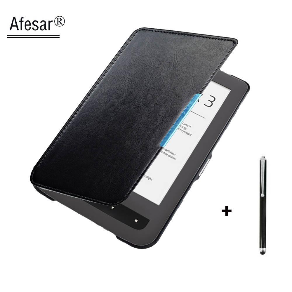 Caliente modelo PB 626 Plus funda para Pocketbook Touch Lux 3 eReader Fit Funda de cuero bolsillo 626 ebook bolsa dropshipping
