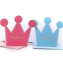 10pcs Classic Original Prince and Princess Greeting Card with Envelope Cartoon Fashion Blank Birthday Gift