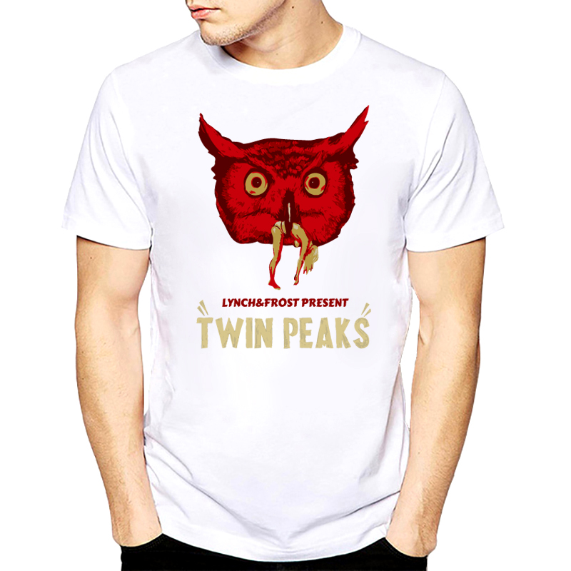 Newest Twin Peaks Men T shirt Retro Laura Palmer Fire Walk With Me Printed T-Shirts Hipster tee Tops plus size men shirt s-xxxl