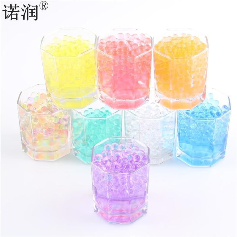 Unids/bolsa de decoración para el hogar en forma de perla bolas de Agua de Cristal para tierra bola de Gel Bio para flor/deshierbe barro cultivar Bolas Mágicas de gelatina 10000
