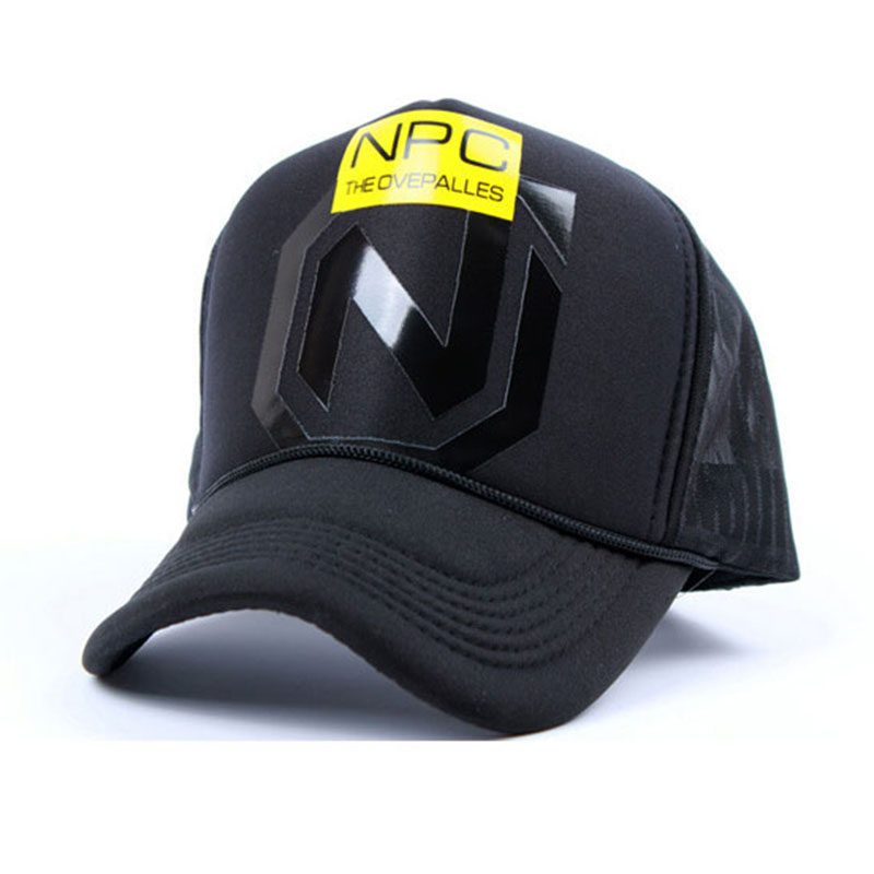 Black White Trucker Hat Heating Network Baseball Cap Adjustable Hip Hop Shade Outdoors Bone Monogram Gorros Jordan For Men Women