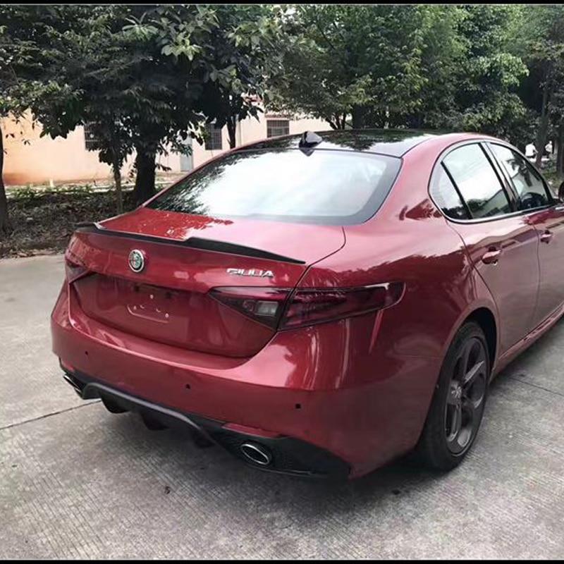 2019 Unpainted Alfa Romeo Giulia 952 Quadrifoglio QV Trunk Lip Spoiler Wing