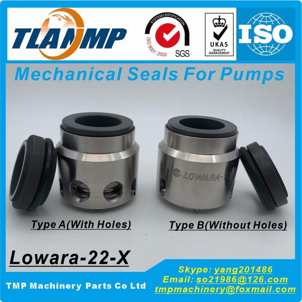 LOWARA-22-X (Type A, Type B) joints mécaniques pour pompes de la série Lowara SV (marque TLANMP fabriquée en chine)