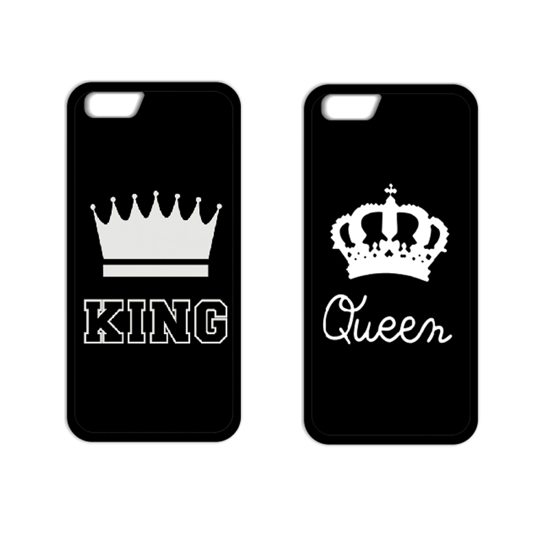 King Queen Coque Cover Case for iPhone 4S 5 5S 5C SE 6 6S Plus Samsung S3 S4 S5 Mini S6 S7 Edge Plus A3 A5 A7 Note 2 3 4 5
