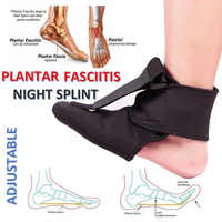 Adjustable Plantar Fasciitis Night Splint Sport Pain Toe Foot Brace Support WH998