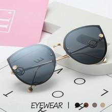 2019 New Luxury Italy Brand Designer Lady Cat Eye Sunglasses Women Vintage