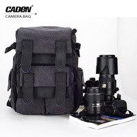 CADeN Waterproof Canvas Camera Bag M5 Backpack Photo Video Digital Camera Case For DSLR Canon Nikon