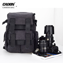 CADeN Waterproof Canvas Camera Bag M5 Backpack  Photo Video Digital Camera Case For DSLR Canon Nikon D5200 D3100 D80 D90 60D 70D
