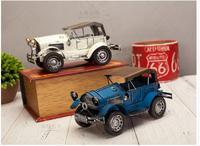 Car Fans TOP COOL Good 2017 Office Home BAR Best Decorative Art Vintage Car Metal Car