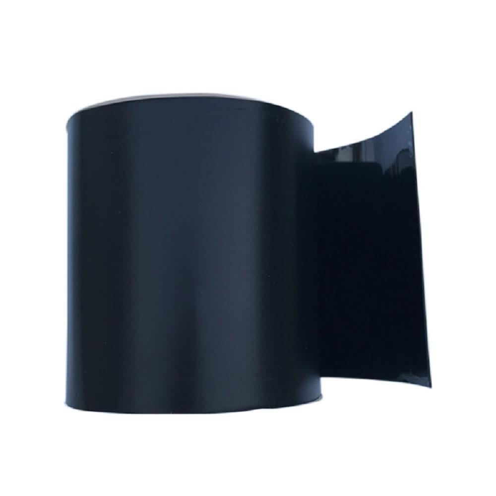 PVC Black Sealing Tape Super Adhesive Tape Air Hose Pipe DIY Useful Practical Waterproof Tape multi color 1 roll 20m marking tape 100mm adhesive tape warning marker pvc tape