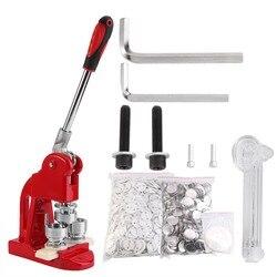 Máquina para hacer insignias, 1 Juego de 25mm, máquina para hacer insignias, perforadora con 1000 piezas, máquina cortadora para hacer botones