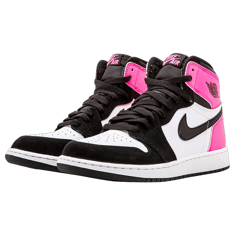 Official Original Nike Air Jordan Nike 1 Retro High OG GG Black and White  Women s Basketball Shoes Sneakers 881426 009-in Basketball Shoes from  Sports ... 5efe8d8ca161
