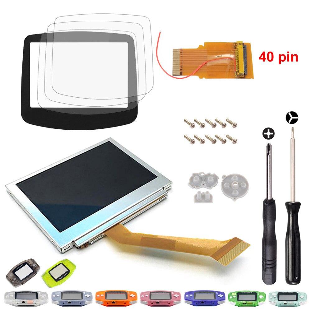 Здесь продается  For Gameboy Advance MOD LCD Backlight 40 Pin GBA SP AGS-101 Backlit Screen  Бытовая электроника