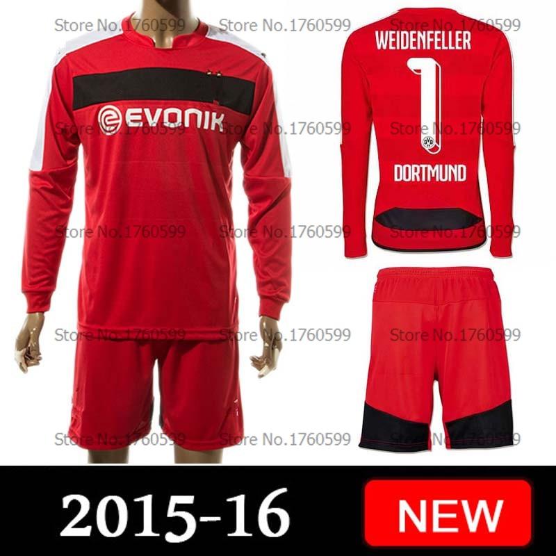 huge discount ea7ef 423d0 2015 2016 Bundesliga Borussia Dortmund Soccer Jersey shirt ...