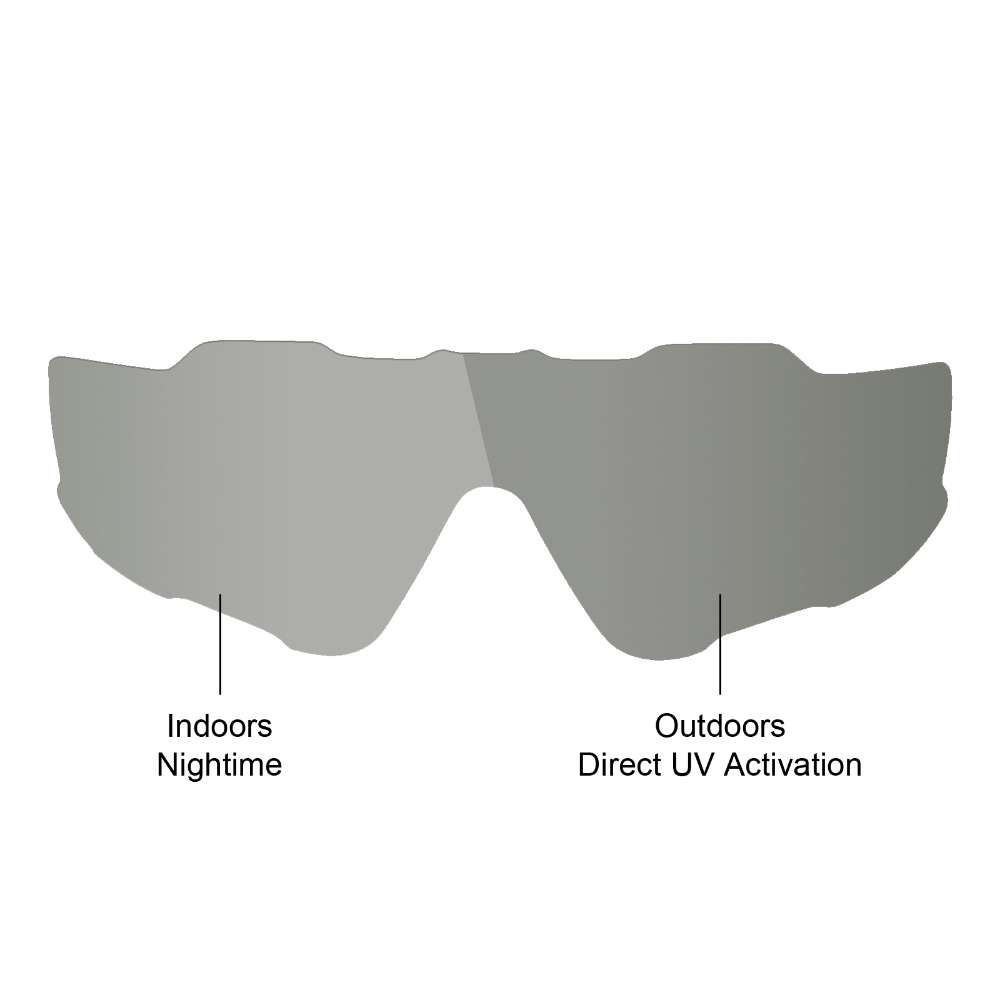 8888921d61 Mryok Replacement Lenses for Oakley Jawbreaker Sunglasses Grey  Photochromic-in Accessories from Apparel Accessories on Aliexpress.com