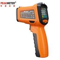 PEAKMETER PM6530C Non contact Digital Infrared Thermometer Colorful Backlight Display K type Probe Temperature Gun 50 800Deg.C
