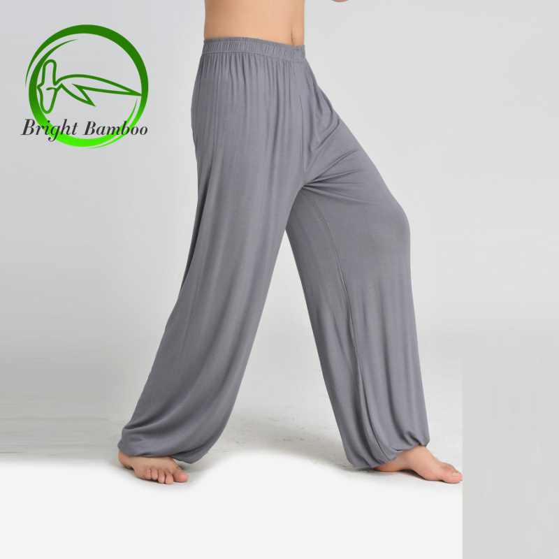 Fashion Indian Clothing Tai Chi Pants Bloomers Pocket Casual Yoga Bamboo Fiber Sport Plus Size In From Mens Accessories