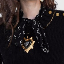 Best Large Heart Choker Pendant Necklace For Women Cheap