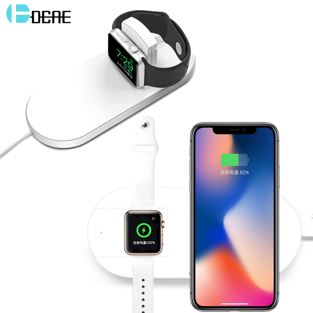 DCAE Qi Wireless Charger for iPhone XS MAX XR X 8 Plus