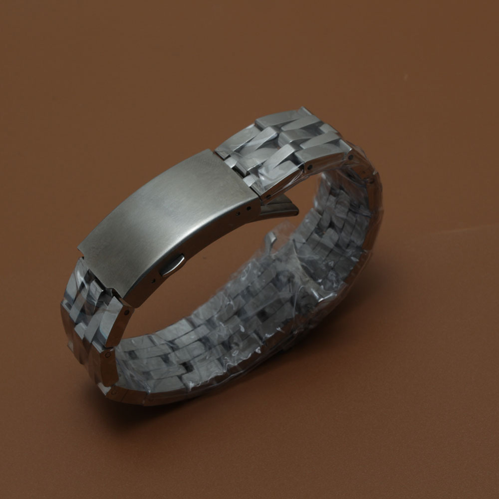 Replacement watchband 19mm PRC200 T17 T461 T014430 T014410 Watchband Watch Parts male strip Solid Stainless steel bracelet strap 19 mm prc200 t17 t461 t014430 t014410 male bracelet bracelet watch parts of the strip of solid stainless steel bracelet