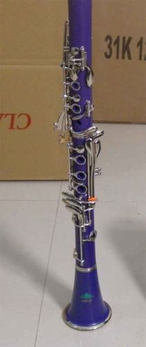 CLARINET Pink,Red,Black,Blue,Purple,White STAND Bb Key