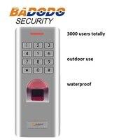 IP66 na świeżym powietrzu WG26 linii papilarnych klawiatura czytnik kontroli dostępu do drzwi antywłamaniowe system blokady otwieracz bramy skorzystaj z w Urządzenie do rozpoznawania odcisków palców od Bezpieczeństwo i ochrona na