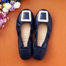 2017 New soft Leather font b Women b font Flats Moccasins Loafers Wild Driving font b