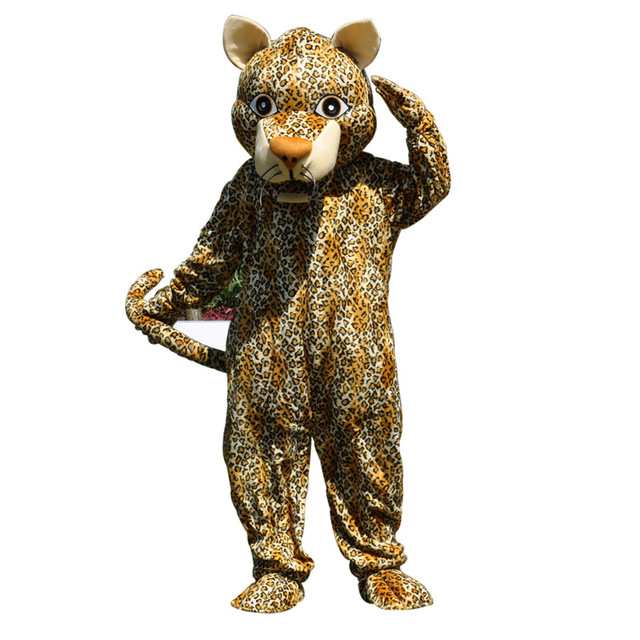 Wild Leopard Panther Mascot Costume For Adult Size Halloween Cheetah Mascots Outfit Cosplay Fancy Dress Advertising  sc 1 st  AliExpress.com & Wild Leopard Panther Mascot Costume For Adult Size Halloween Cheetah ...